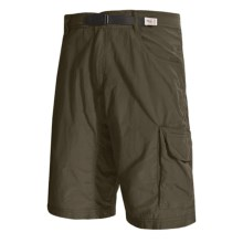 Gramicci Riverview Cargo Shorts (For Men) in Fatigue Green - Closeouts
