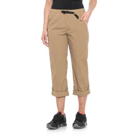 Gramicci Rocket Dry Roll-Up G-Pants -  Convertible Legs (For Women) in French Khaki - Closeouts