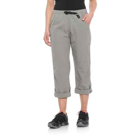 Gramicci Rocket Dry Roll-Up G-Pants -  Convertible Legs (For Women) in Light Grey - Closeouts