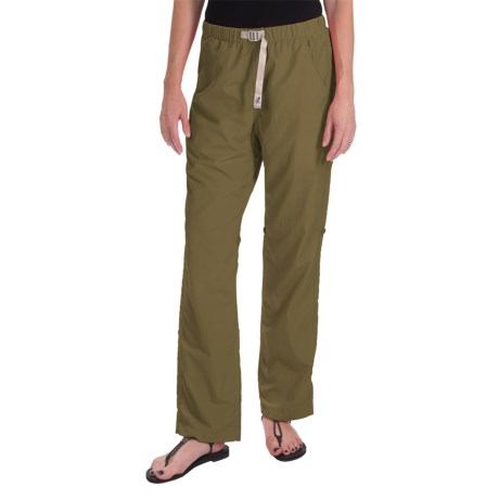 Gramicci Rocket Dry Roll-Up G-Pants -  Convertible Legs (For Women) in Olive Drab