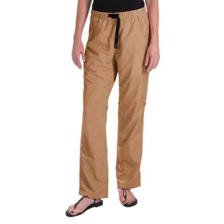 Gramicci Rocket Dry Roll-Up G-Pants - UPF 30, Convertible Legs (For Women) in Beach Khaki - Closeouts