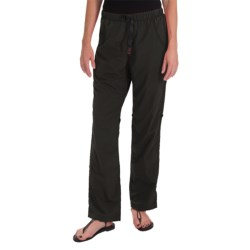 Gramicci Rocket Dry Roll-Up G-Pants - UPF 30, Convertible Legs (For Women) in Black