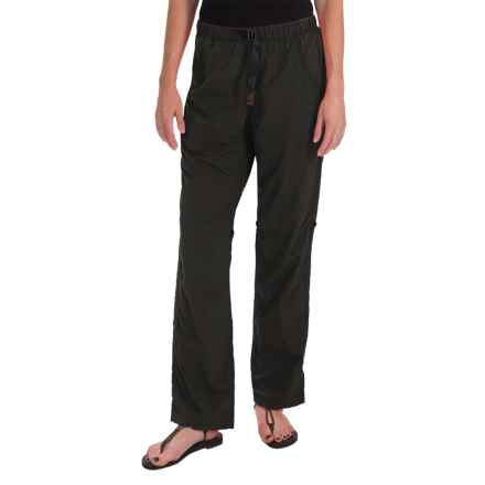 Gramicci Rocket Dry Roll-Up G-Pants - UPF 30, Convertible Legs (For Women) in Black - Closeouts
