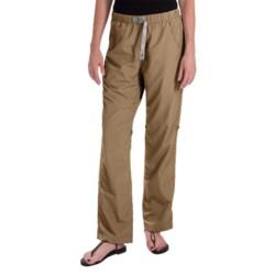 Gramicci Rocket Dry Roll-Up G-Pants - UPF 30, Convertible Legs (For Women) in British Khaki