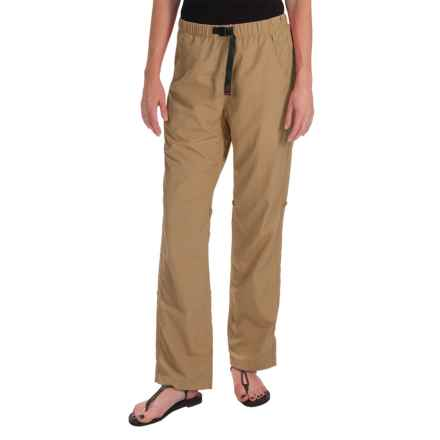 Gramicci Rocket Dry Roll-Up G-Pants - UPF 30, Convertible Legs (For Women) in French Khaki - Closeouts