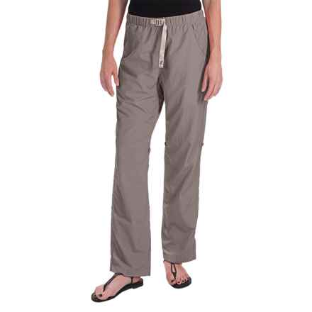 Gramicci Rocket Dry Roll-Up G-Pants - UPF 30, Convertible Legs (For Women) in J Grey - Closeouts