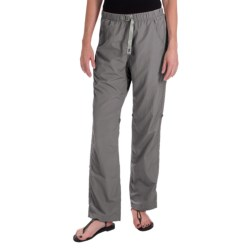 Gramicci Rocket Dry Roll-Up G-Pants - UPF 30, Convertible Legs (For Women) in Light Grey