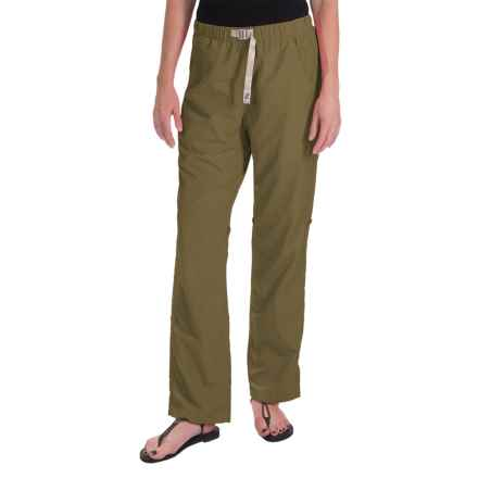 Gramicci Rocket Dry Roll-Up G-Pants - UPF 30, Convertible Legs (For Women) in Olive Stone - Closeouts