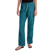 Gramicci Rocket Dry Roll-Up G-Pants - UPF 30, Convertible Legs (For Women) in Peacock - Closeouts