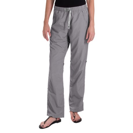 Gramicci Rocket Dry Roll-Up G-Pants - UPF 30, Convertible Legs (For Women) in Pebble