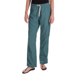 Gramicci Rocket Dry Roll-Up G-Pants - UPF 30, Convertible Legs (For Women) in Vapor Blue