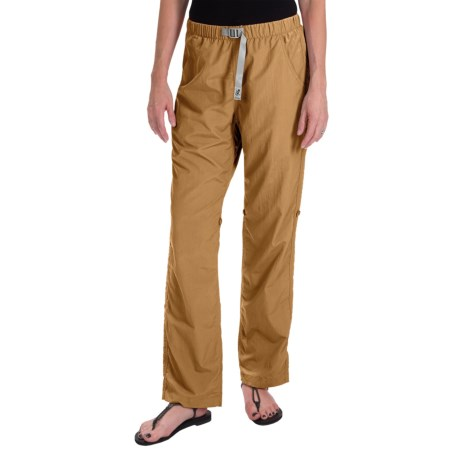 Gramicci Rocket Dry Roll-Up G-Pants - UPF 30, Convertible Legs (For Women) in Wheat