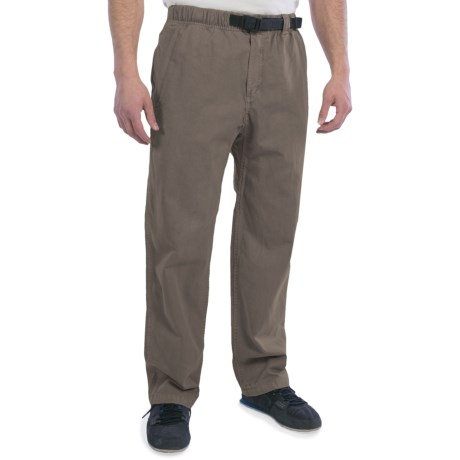 Gramicci Rockin Sport Pants (For Men) in Falcon Brown