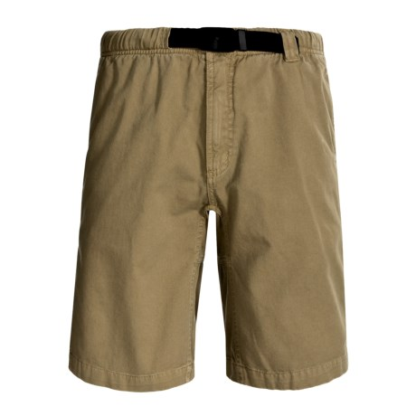 Gramicci Rockin Sport Shorts - Cotton, Flat Front (For Men) in Balsom Khaki
