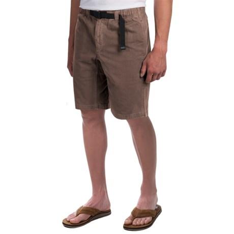 Gramicci Rockin' Sport Shorts - Cotton, Flat Front (For Men) in Falcon Brown