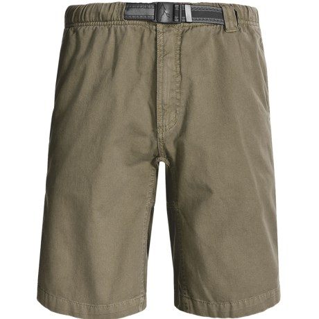 Gramicci Rockin Sport Shorts - Cotton, Flat Front (For Men) in Barracks Green