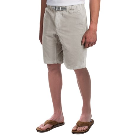 Gramicci Rockin Sport Shorts - Cotton, Flat Front (For Men) in Old Stone