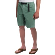Gramicci Rockin' Sport Shorts - Cotton, Flat Front (For Men) in Silver Pine - Closeouts