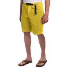 Gramicci Rockin' Sport Shorts - Cotton, Flat Front (For Men) in Sun Yellow - Closeouts