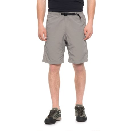 Gramicci Rockit Dry 2 Original G Shorts - UPF 30 (For Men) in Light Grey