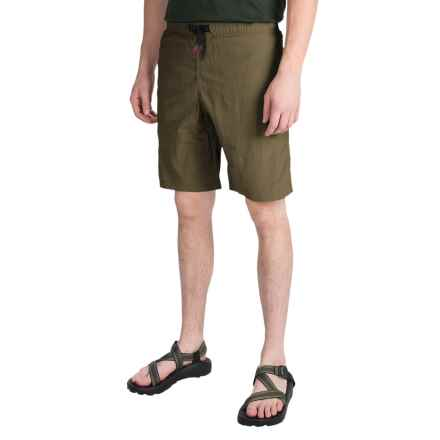 Gramicci Rockit Dry 2 Original G Shorts - UPF 30 (For Men) in Olive Stone - Closeouts