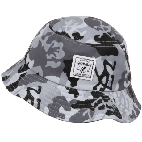 7f8ec8ec42a Gramicci Running Man Camo Bucket Hat (For Men) - Save 47%