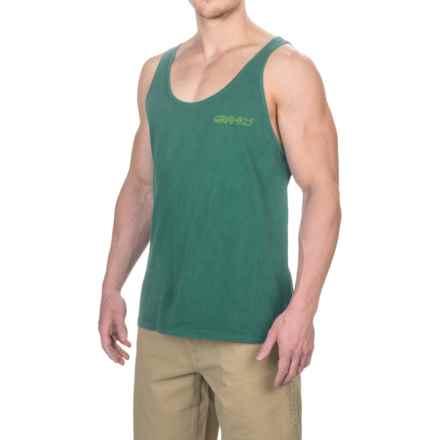 Gramicci Running Man Tank Top - Organic Cotton (For Men) in Hunter Green - Closeouts