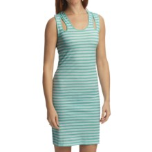 Gramicci Sakura Sailor Dress - Dafina Stripe, Sleeveless (For Women) in Spa Blue - Closeouts