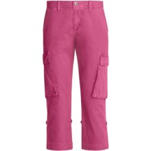 Gramicci Sarai Crop Pants - Diamond Twill (For Women) in Rasberry Rose - Closeouts