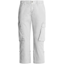 Gramicci Sarai Crop Pants - Diamond Twill (For Women) in Star White - Closeouts