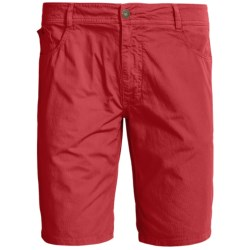 Gramicci Schell Creek Twill Shorts - UPF 30 (For Men) in Deep Red