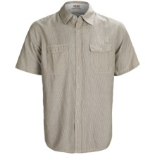 Gramicci Scout Railroad Stripe Shirt - Short Sleeve (For Men) in Toasted Coconut - Closeouts