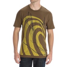 Gramicci Sea Lion T-Shirt - Organic Cotton (For Men) in Dark Earth - Closeouts