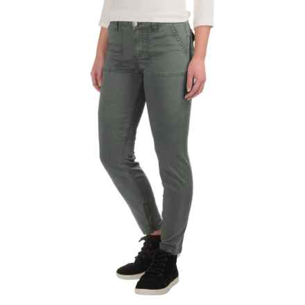 Gramicci Seamless Skinny Chino Pants (For Women) in Asphalt Grey - Closeouts