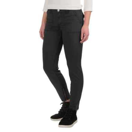 Gramicci Seamless Skinny Chino Pants (For Women) in Black - Closeouts