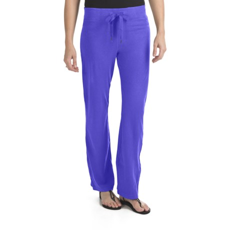 Gramicci Serengeti Pants - Hemp-Organic Cotton, UPF 20 (For Women) in Deep Ultramarine