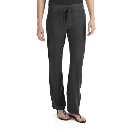 Gramicci Serengeti Pants - Hemp-Organic Cotton, UPF 20 (For Women) in Moonless Night