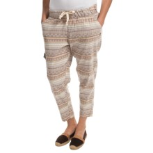 Gramicci Shiloh Crop Pants (For Women) in Camel - Closeouts