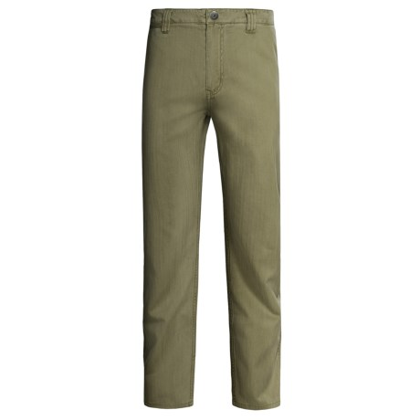 Gramicci Shiloh Pants (For Men) in Fatigue Green