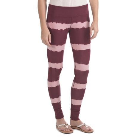 Gramicci Siene Mina Leggings - UPF 30, Stretch Organic Cotton (For Women) in Tawn Port