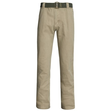 Gramicci Signal Pants with Belt (For Men) in Beach Khaki