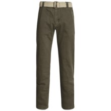 Gramicci Signal Pants with Belt (For Men) in Fatigue Green - Closeouts