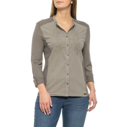 4cae579159 Gramicci Starry Night Shirt - Long Sleeve (For Women) in Storm - Closeouts