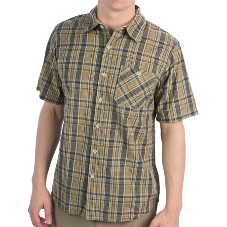 Gramicci Stinson '62 Shirt - Short Sleeve (For Men) in Willow Green