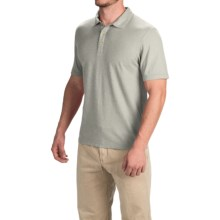 Gramicci Strike Polo Shirt - Hemp-Organic Cotton, Short Sleeve (For Men) in Cloudy Grey - Closeouts