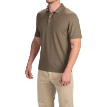 Gramicci Strike Polo Shirt - Hemp-Organic Cotton, Short Sleeve (For Men) in Dusty Olive - Closeouts