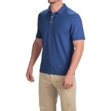 Gramicci Strike Polo Shirt - Hemp-Organic Cotton, Short Sleeve (For Men) in Indigo Blue - Closeouts