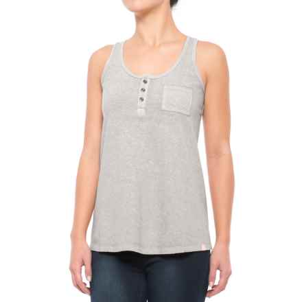 Gramicci Strollin Swingy Tank Top - Hemp-Organic Cotton (For Women) in Stainless Steel - Closeouts