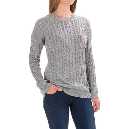 Gramicci Take a Walk Sweater (For Women) in Marled Grey - Closeouts