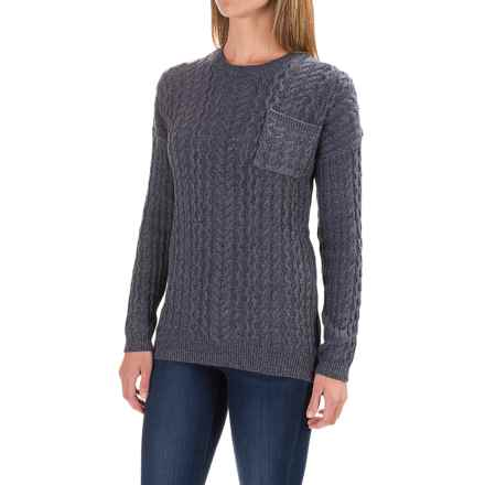 Gramicci Take a Walk Sweater (For Women) in Marled Navy - Closeouts